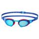 speedo Fastskin Prime Mirror duikbrillen rood/blauw